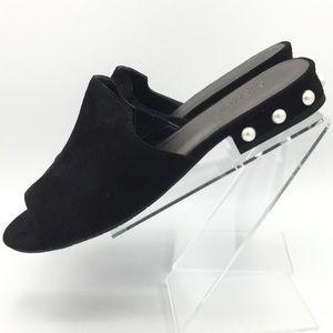 Kenneth Cole Black Dress Slide Sandals